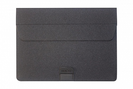 "VIVACASE Папка для MacBook Air Business 15-16"", оксфорд, черный (VCN-FBS160-bl)"